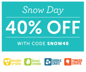 Kiwi Crate Snow Day Promo - 40...