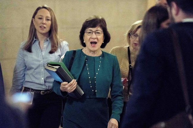 Susan Collins' Vote Could Be Key for Tax Bill