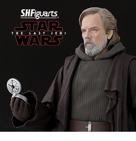 S.H.FIGUARTS LUKE SKYWALKER (THE LAST JEDI) EXCLUSIVE