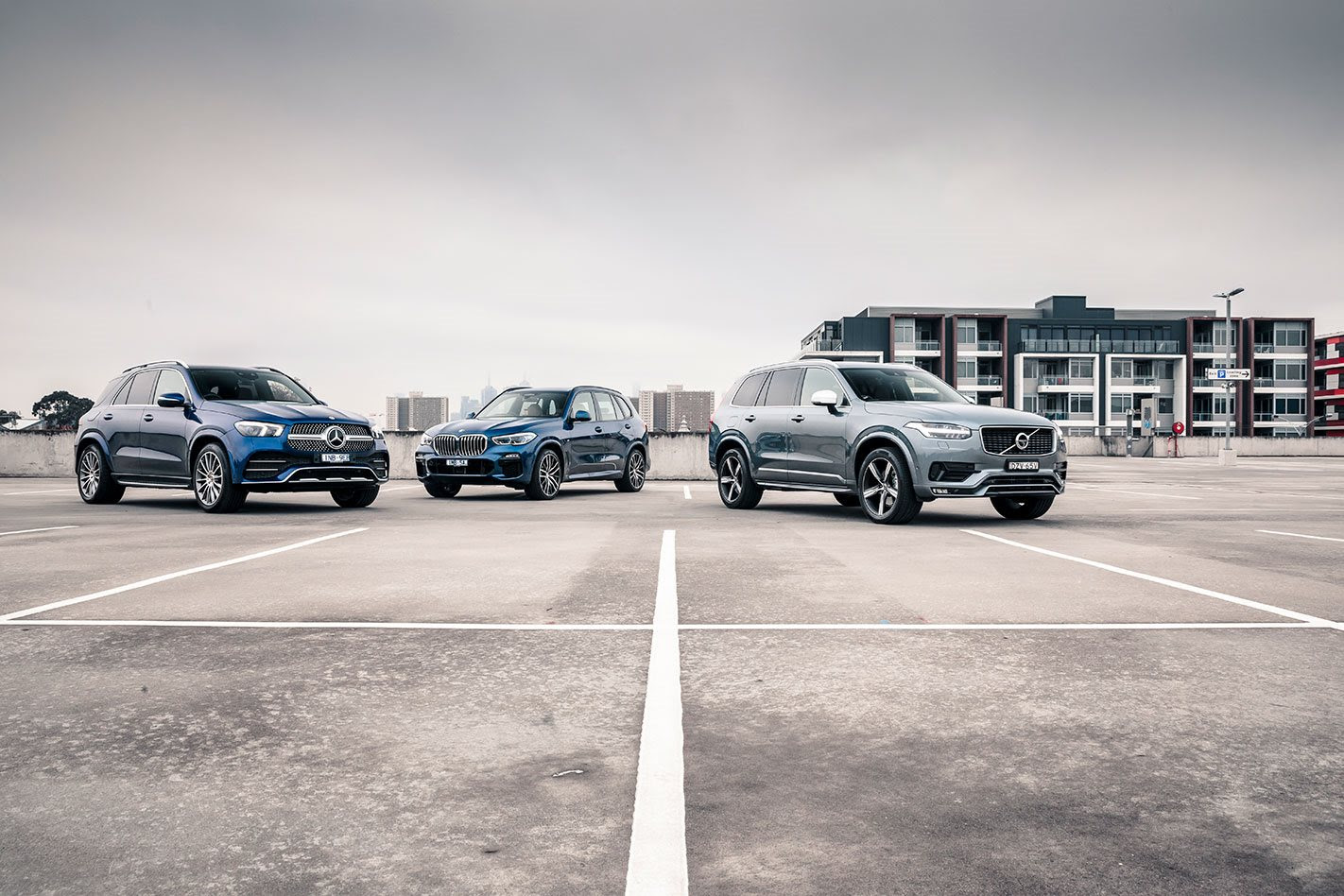 BMW X5 vs Mercedes-Benz GLE vs Volvo XC90 comparison