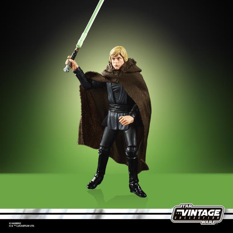 Image of Star Wars The Vintage Collection Luke Skywalker Jedi Knight 3 3/4-Inch Action Figure - SEPTEMBER 2020