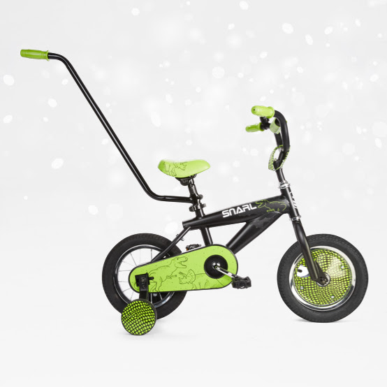 30cm Snarl bike.