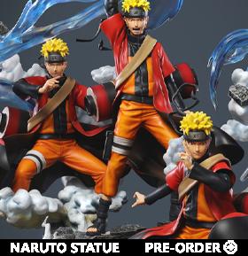 Naruto: Shippuden Naruto Uzumaki Wind Release: Rasenshuriken 1/8 Scale Limited Edition Statue