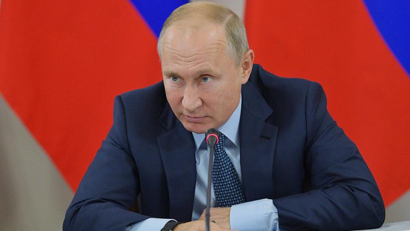 """Putin: """"La respuesta de Rusia a la salida de EE.UU. del Tratado INF será muy rápida y efectiva"""""""