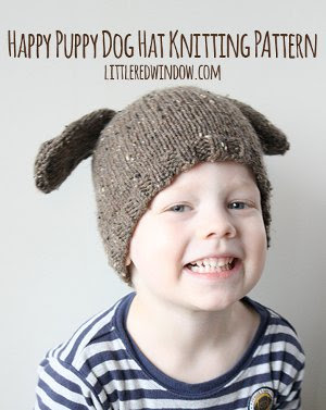 Happy Puppy Dog Hat