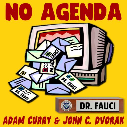 No Agenda Show art logo