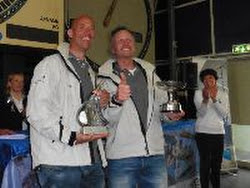 J/111 Xcentric Ripper winners- Robin Verhoef and John van der Starre