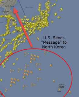 Massive U.S. Force Heading Toward North Korea