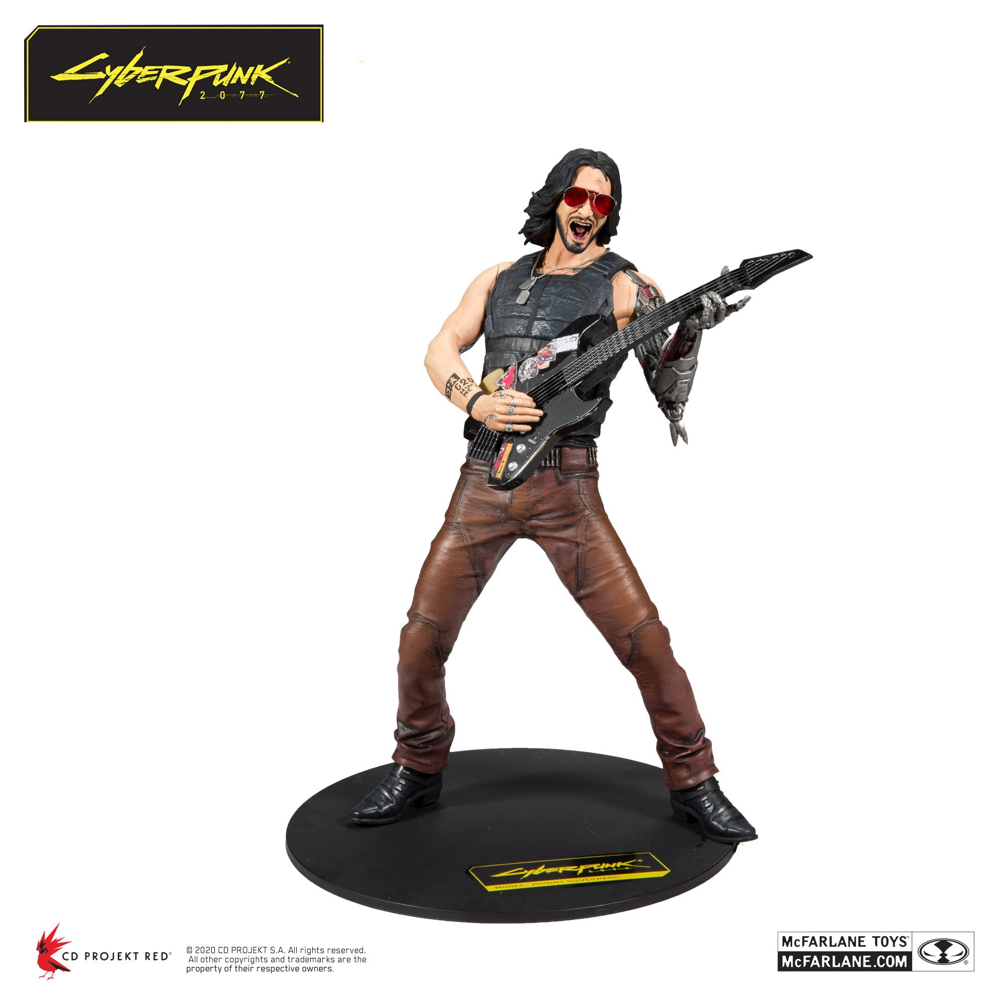 """Image of Cyberpunk 2077 Johnny Silverhand 12"""" Action Figure - Q2 2020"""