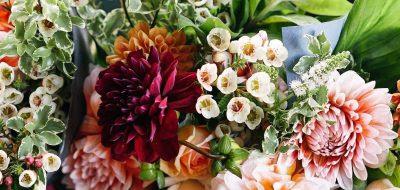 A colorful flower arrangement