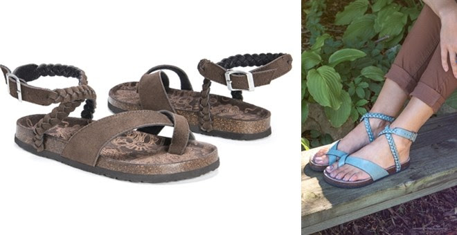 HOT! MUK LUKS® Estelle Sandals...