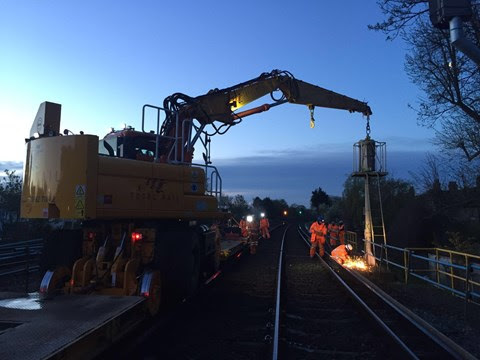 May Day rail investment programme delivers better, more reliable railway for passengers in the South East
