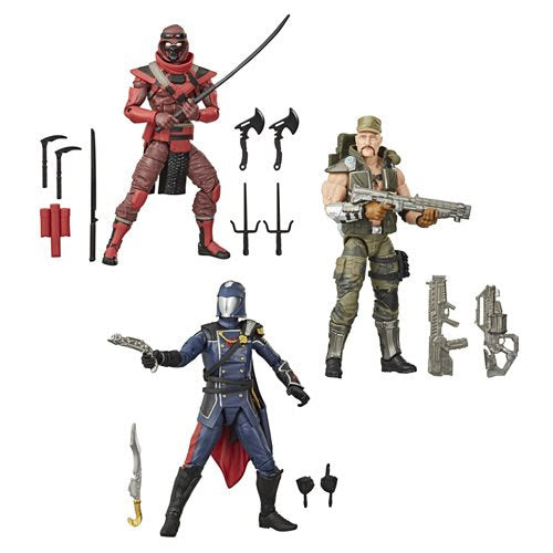 Image of G.I. Joe Classified Series 6-Inch Action Figures Wave 2 Case Set of 3 - OCTOBER 2020