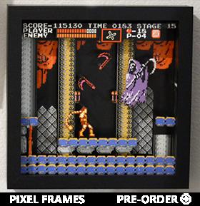 Castlevania Pixel Frames