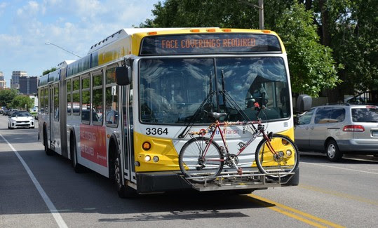 image of metro transit bus