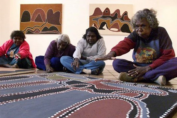 artistes aborigènes