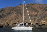 J/105 cruising Channel Islands- Santa Cruz!
