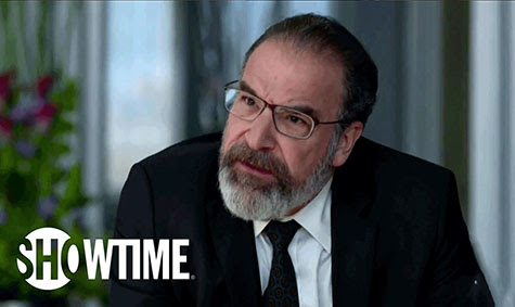 Homeland's Mandy Patinkin