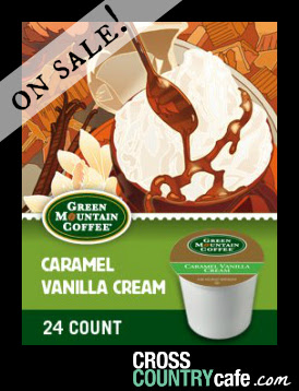 Green Mountain Caramel Vanilla Cream Keurig K-cup coffee