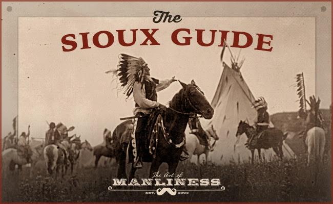 lakota indian chief on horse horseback in village