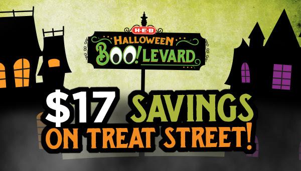 $17 Savings on Treat Street!