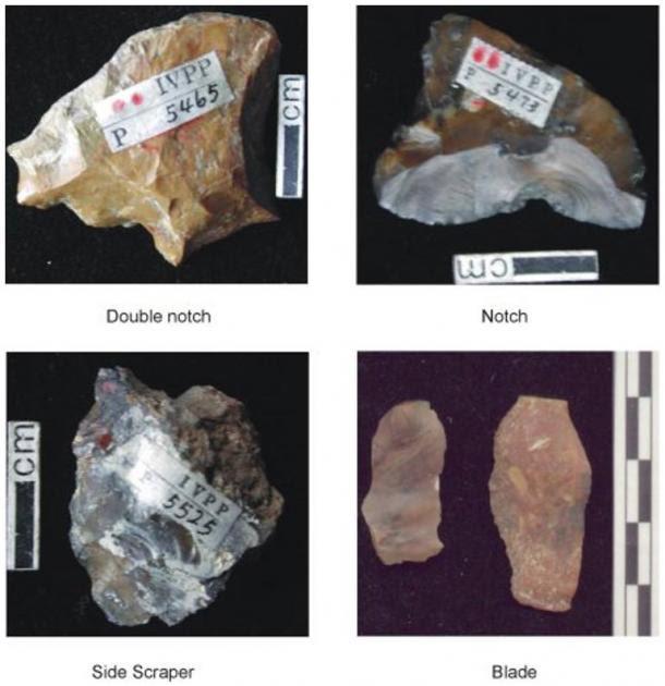 stone tools found at Nihewan - Arqueólogos en China aseguran haber encontrado juguetes con un millón de años