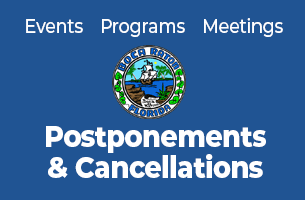 City of Boca Raton, Florida Events, Programs, Meetings postponements and cancellations