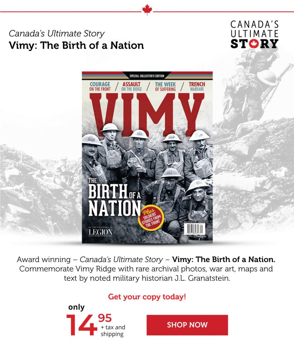 Vimy: The Birth of a Nation Special Issue