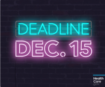 The deadline is December 15!