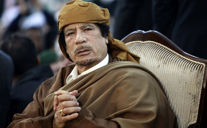 Le colonel Mouammar Kadhafi. © Reuters
