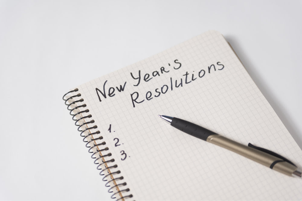 Write down your resolutions