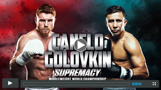 Canelo vs GGG - Online PPV Promo