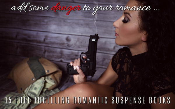 Thrilling romantic suspense giveaway