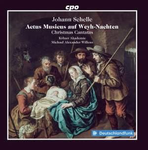 Johann Schelle: Actus Musicus Auf Weyh-Nachten Product Image