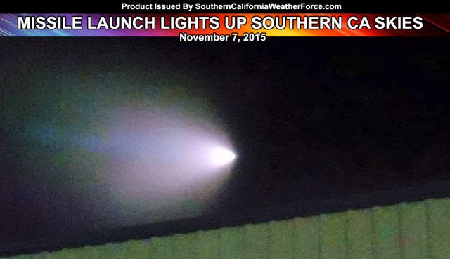 Strange Glowing Cloud In The Sky: Military Operation On San Nicolas Island or Offshore Nuclear Submarine