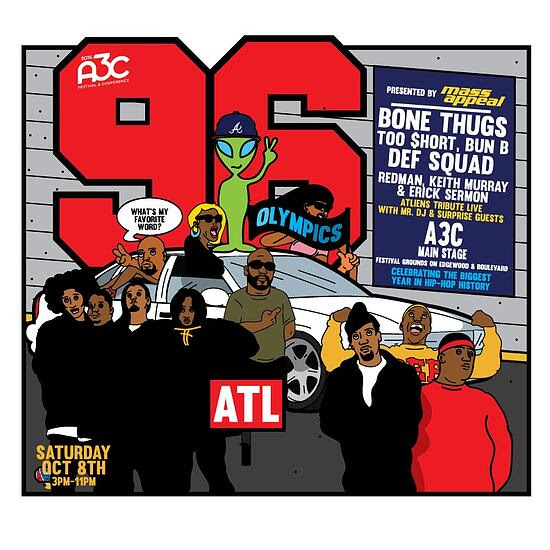 A3C Hip Hop Music Festival 2016 Atlanta Dates lineup Schedule Events SHOWCASE