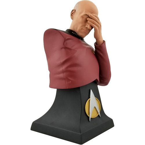 Image of Star Trek: The Next Generation Picard Facepalm Limited Edition Bust - San Diego Comic-Con 2020 Previews Exclusive - AUGUST 2020