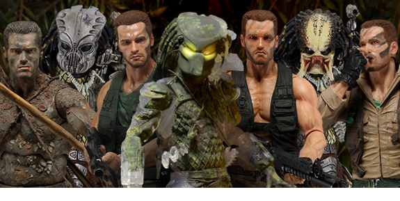 PREDATOR 30TH ANNIVERSARY ACTION FIGURES