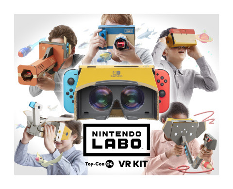 Experience a new dimension of Nintendo Labo with the launch of the Nintendo Labo: VR Kit on April 12 ...