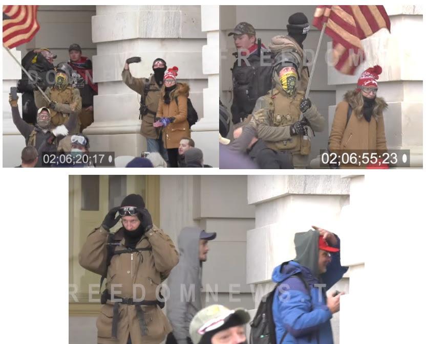 IGNORED BY THE MEDIA ELITES AND FBI: List of 20 Individuals at the Capitol on January 6th – All Appear to be Connected to Antifa or Far Left Groups Most-Wanted-5-2-Guys-and-a-Girl-on-Steps