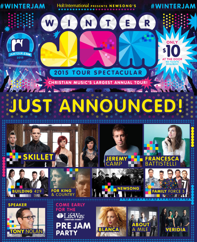 2015 Winter Jam Tour Spectacular