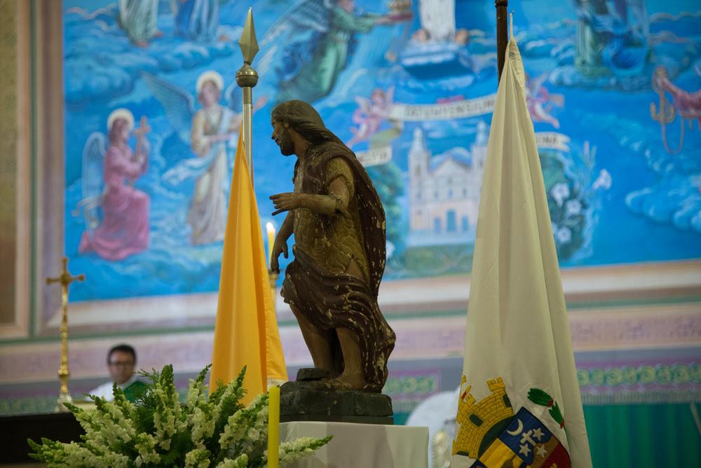 Prefeitura tomba, de forma irrevogável, a imagem de São João Batista do Bemfica de Tatuí