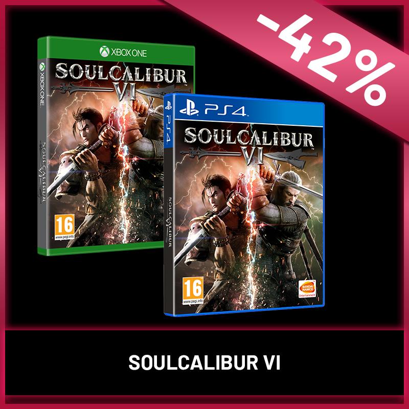 Nyárindító Black Friday - Soul Calibur VI