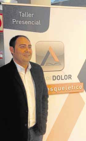 Enrique Sánchez, respònsable de la Unidad de Dolor del hospital San Jorge de Huesca