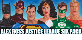 ALEX ROSS JUSTICE LEAGUE SIX PACK
