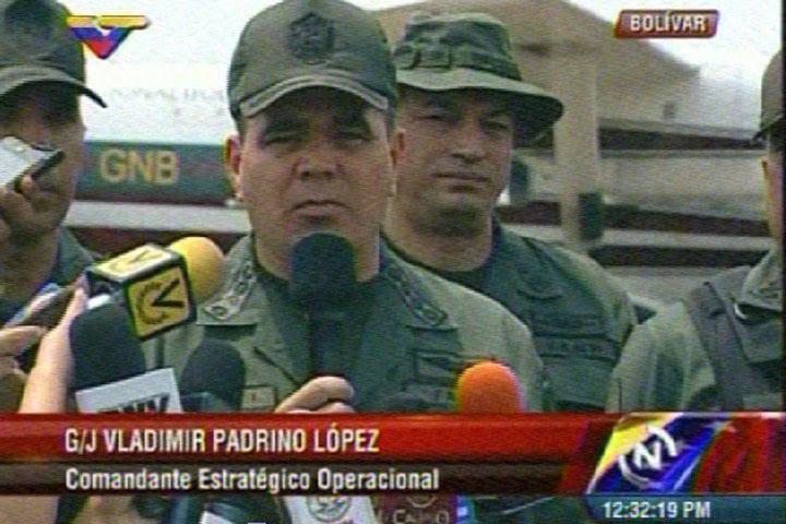 El general en jefe, Vladimir Padrino López