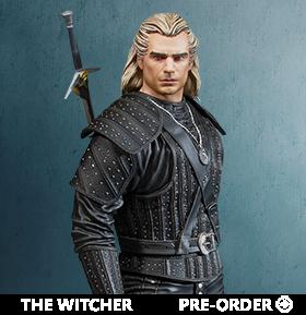 The Witcher (TV Series) Geralt Figure