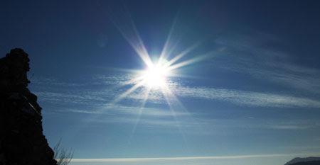 Ahhh...sunlight is great, isn't it?