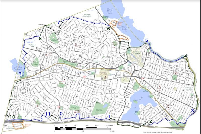 Circumnavigate Arlington