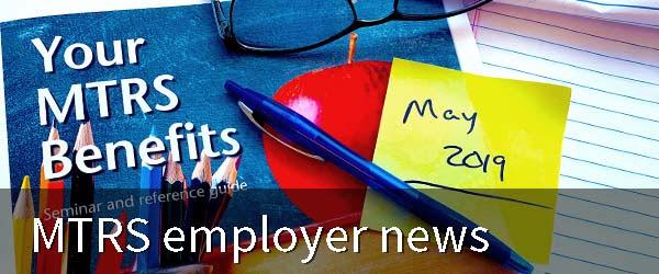 MTRS employer news